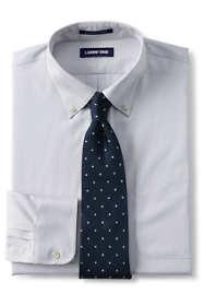 Men's Comfort Collar No Iron Supima Pinpoint Shirt