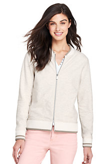 Women's Sweatshirt Bomber Jacket