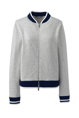 Women's Sweatshirt Bomber Jacket