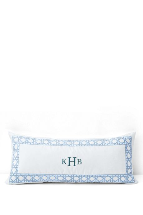 No Iron Embroidered Decorative Pillow