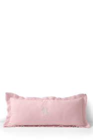 Linen Raw Edge Decorative Pillow