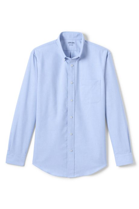 Men's Adaptive Long Sleeve Oxford Shirt