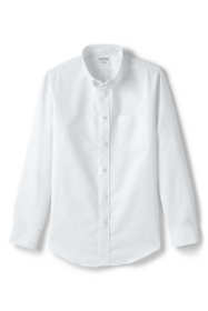 School Uniform Men's Adaptive Long Sleeve Oxford Dress Shirt