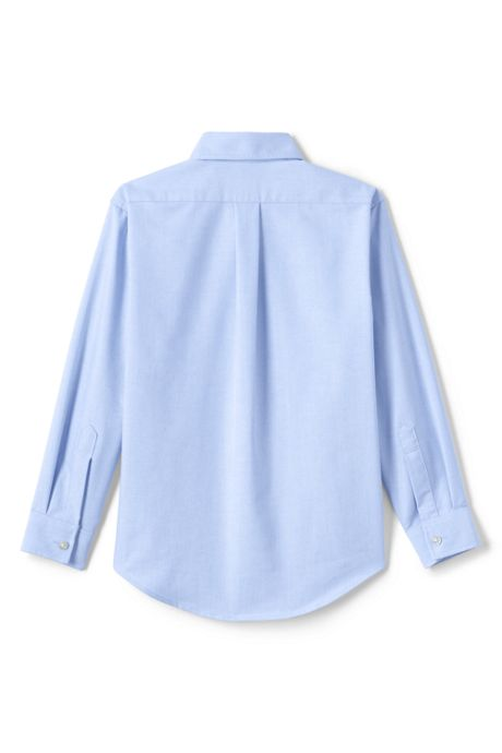 School Uniform Kids Adaptive Long Sleeve Oxford Shirt