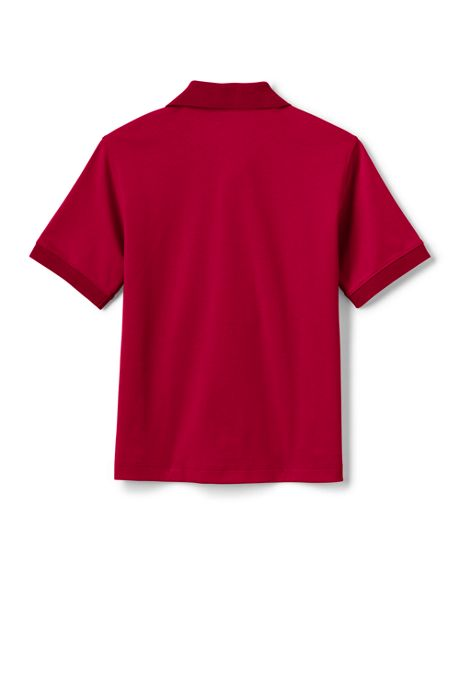 Little Kids Adaptive Short Sleeve Interlock Polo