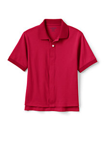 Kids' Adaptive Short Sleeve Interlock Polo
