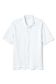 Men's Adaptive Short Sleeve Interlock Polo Shirt