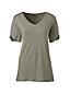 Women's Linen Split Sleeve T-shirt