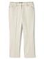 Le Chino Court Vichy Stretch Taille Mi-Haute, Femme Stature Standard