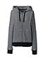 Le Hoodie Texturé Zippé, Femme Stature Standard