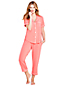 Women's Modal Short Sleeve Patterned Pyjama Set