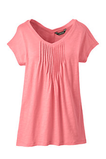 Women's Summer Top with Pintucks