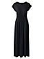 Women's Cap Sleeve Jersey Midi Dress