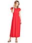 La Robe Longue Rétro à Motifs en Jersey Stretch, Femme Stature Standard