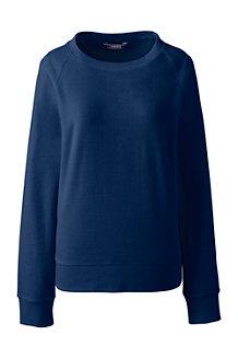 Le Sweatshirt Lounge en Velours, Femme