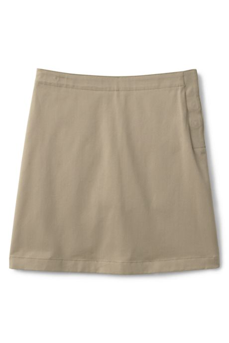 School Uniform Girls Adaptive Blend Chino Skort