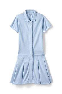 Girls' Adaptive Mesh Polo Dress