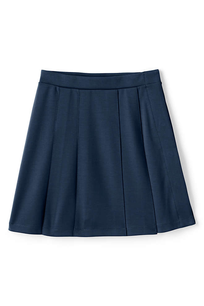 School Uniform Girls Adaptive Ponte Skirt, Front