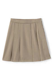 School Uniform Little Girls Adaptive Ponte Skirt