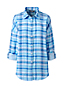 Women's Check Shirt With Rolled Sleeve