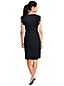 Women's Shift Dress with Shoulder Ruffles