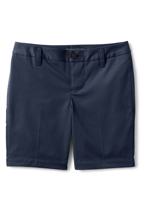 Girls Adaptive Perfect Fit Blend Chino Shorts