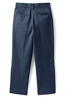 School Uniform Boys Adaptive Blend Iron Knee Chino Pants, Back
