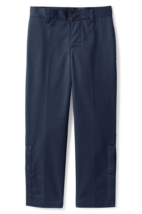 School Uniform Boys Adaptive Blend Iron Knee Chino Pants