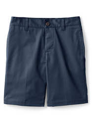 School Uniform Little Boys Adaptive Blend Chino Shorts