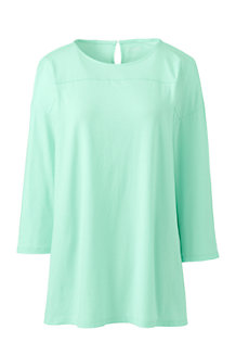 Women's Lightweight Cotton/Modal Tunic Top