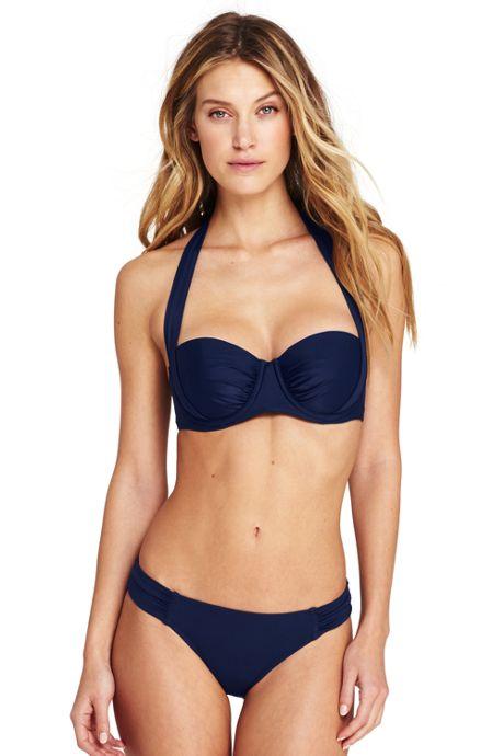 Women's Underwire Halter Bikini Top