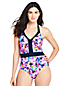 Women's Halterneck Floral Print Perfect Swimsuit