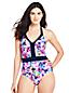 Women's Halterneck Floral Print Perfect Swimsuit