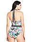 Women's Halterneck Tropical Print Perfect Swimsuit