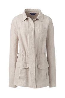 Women's Casual Linen Jacket