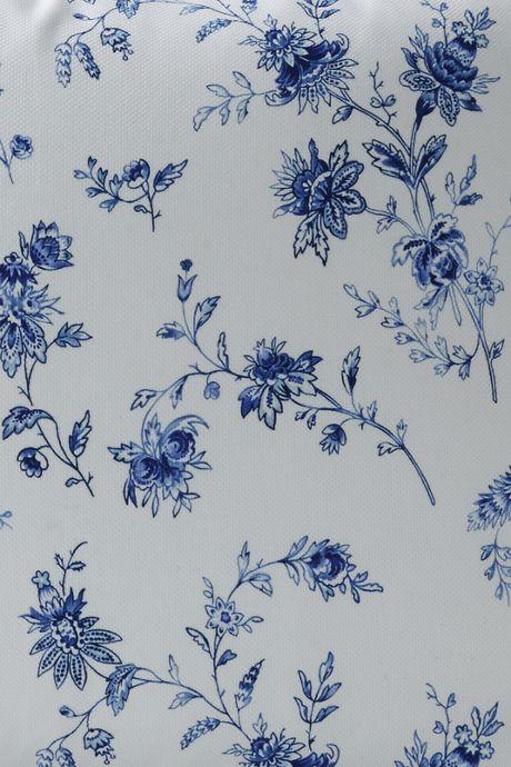 Cotton Pique Print Duvet Cover