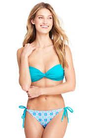Women's Twist Front Bandeau Bikini Top