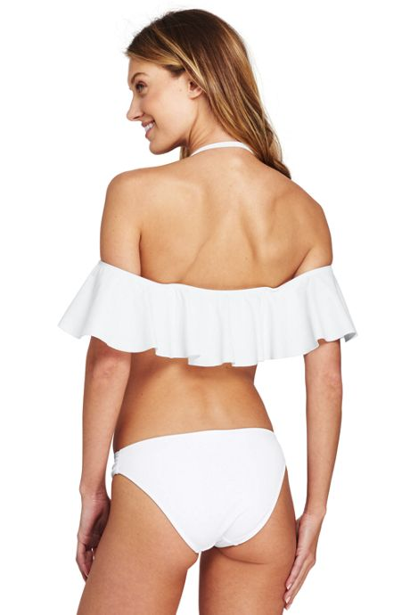 Women's Flounce Bikini Top