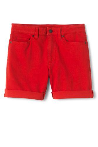 Women's Roll Hem Denim Shorts