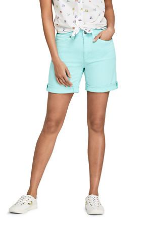 erstaunliche Qualität neuesten Stil von 2019 hohes Ansehen Twill-Shorts in Farbe für Damen | Lands' End