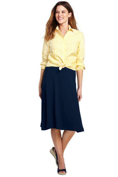 Women's Knit Midi Skirt
