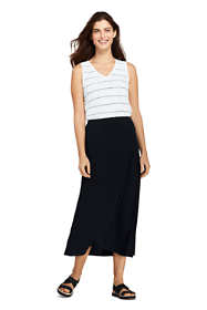 Women's Petite Knit Midi Skirt