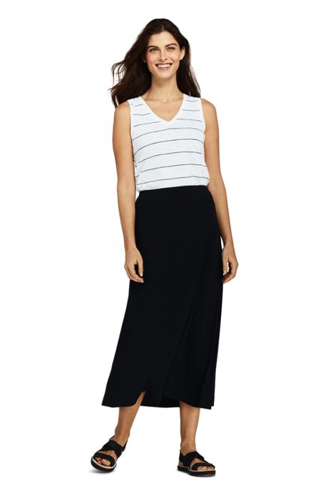 Women's Knit Midi Skirt