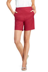 Women's Drapey Linen Shorts