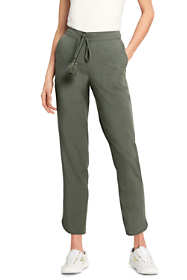 Women's Petite Tencel Crop Jogger Pants