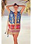 Women's Sunrise Collection Crepe Kaftan Cover-up