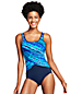 Women's Deep Sea Ripples Tugless Swimsuit
