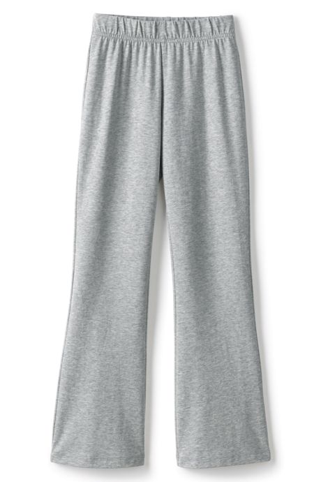 Little Girls Iron Knee Yoga Flare Pants