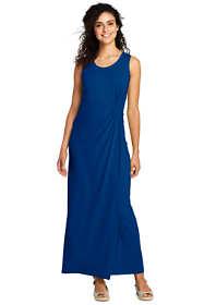 Women's Tall Sleeveless Knot Waist Maxi Dress