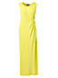 Women's Jersey Maxi Dress with Knot Detail